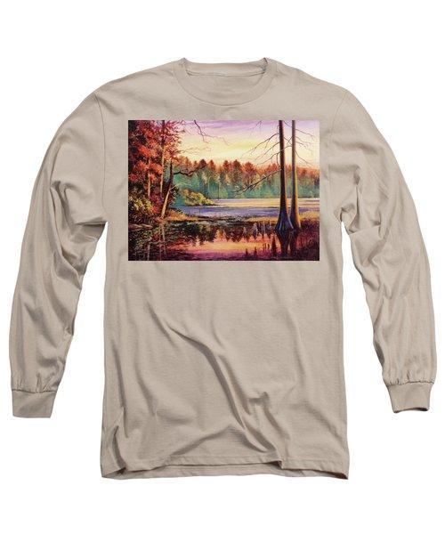 Big Thicket Swamp Long Sleeve T-Shirt