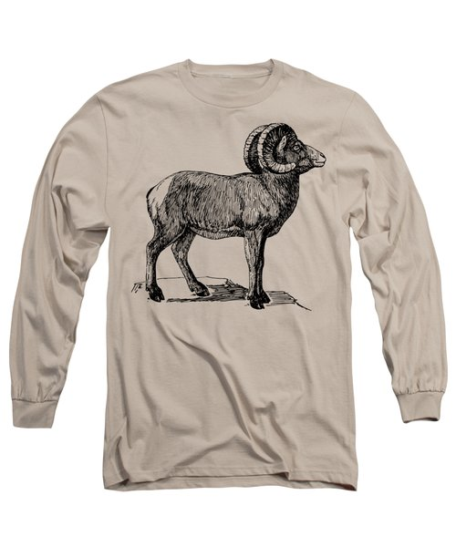 Bighorn Sheep  Long Sleeve T-Shirt