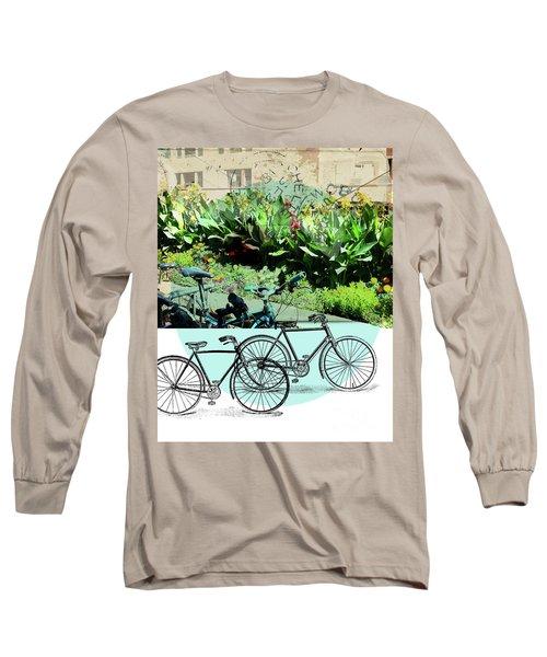 Bike Poster Long Sleeve T-Shirt