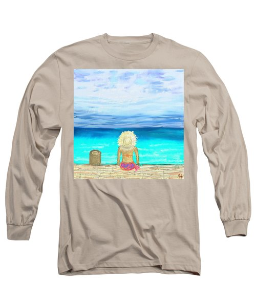 Bikini On The Pier Long Sleeve T-Shirt