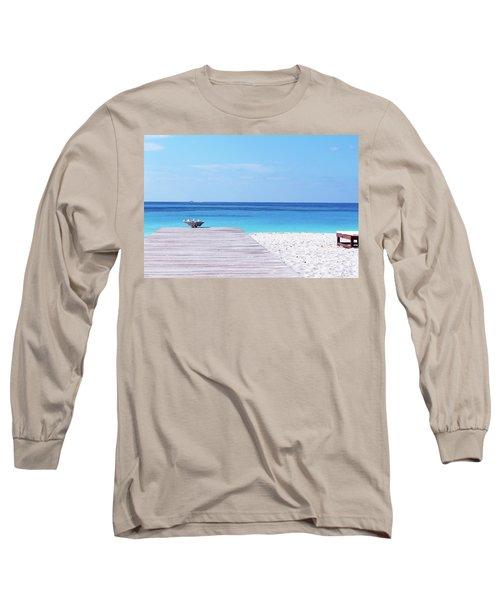Bimini Beach Club Long Sleeve T-Shirt