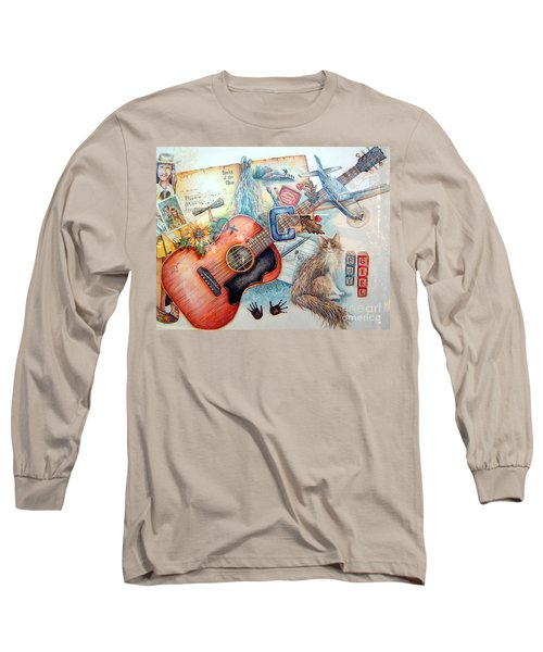 Bio Bits Long Sleeve T-Shirt