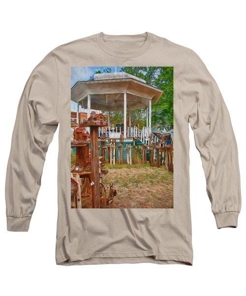Bird Houses Long Sleeve T-Shirt by Trey Foerster