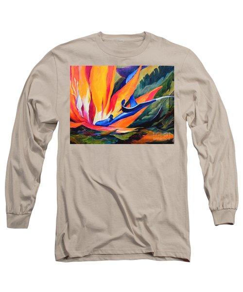 Bird Of Paradise Long Sleeve T-Shirt
