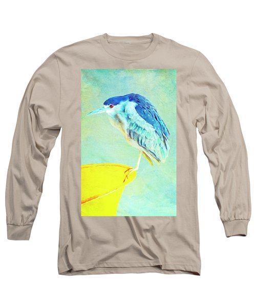 Bird On A Chair Long Sleeve T-Shirt