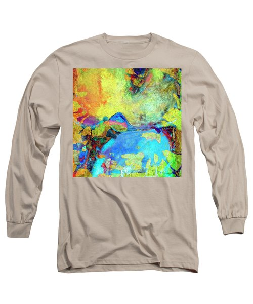 Long Sleeve T-Shirt featuring the painting Birdland by Dominic Piperata