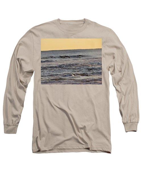 Birds At Sea Long Sleeve T-Shirt