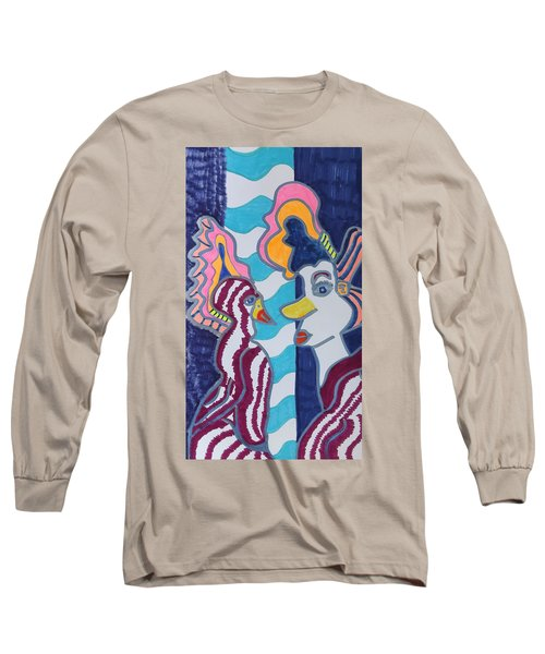 Birds Of A Feather Long Sleeve T-Shirt by Don Koester