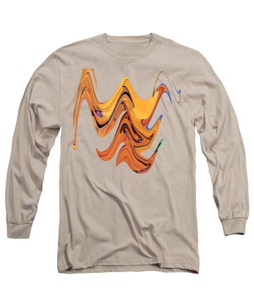 Birds Of Paradise Improvisation Long Sleeve T-Shirt