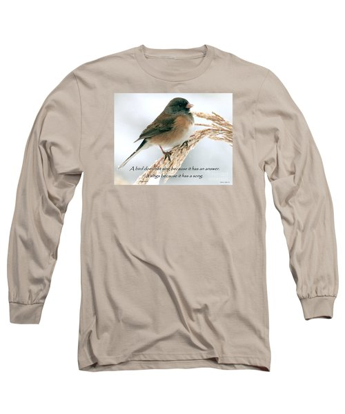 Birdsong Long Sleeve T-Shirt
