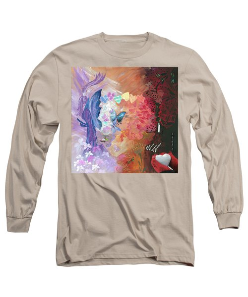 Birth Of A Monarch Long Sleeve T-Shirt