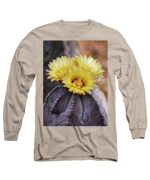 Long Sleeve T-Shirt featuring the photograph Bishop's Cap Cactus  by Saija Lehtonen