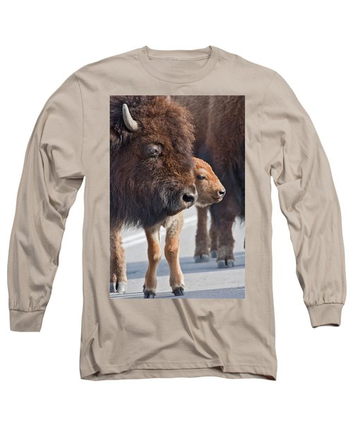 Bison Family Long Sleeve T-Shirt