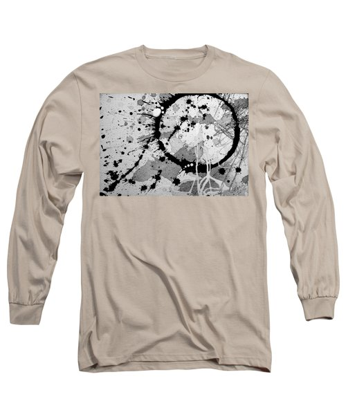 Black And White Two Long Sleeve T-Shirt by Tracy Bonin