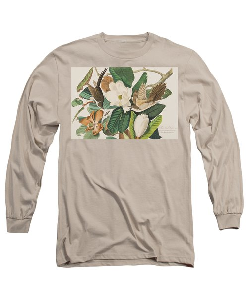 Black Billed Cuckoo Long Sleeve T-Shirt