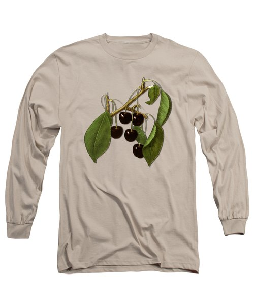 Black Cherries Long Sleeve T-Shirt