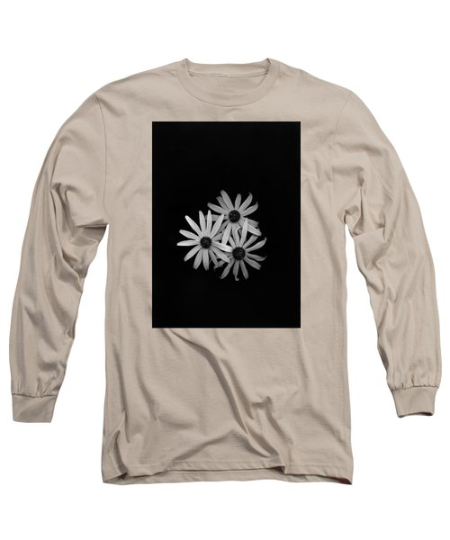 Black Eyed Susan's 1 Long Sleeve T-Shirt by Simone Ochrym