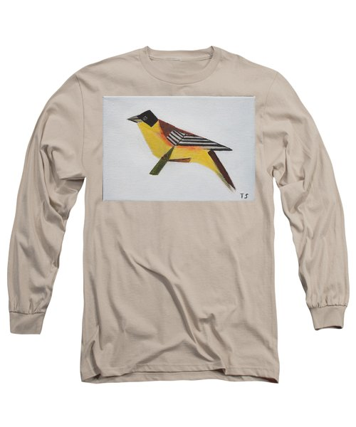 Black-headed Bunting Long Sleeve T-Shirt