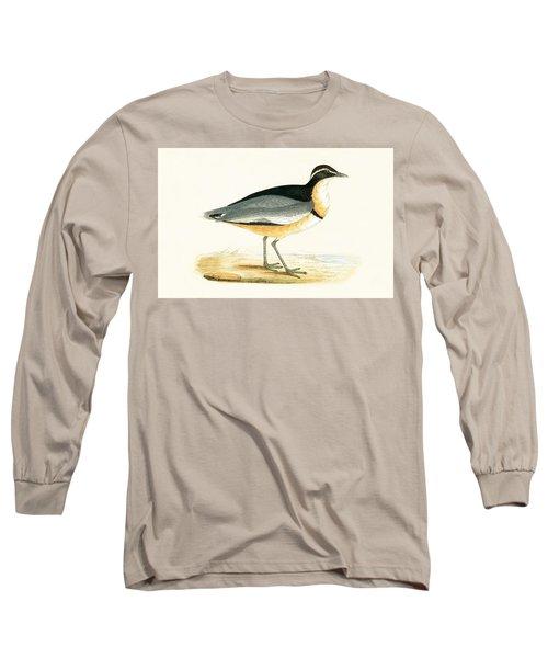 Black Headed Plover Long Sleeve T-Shirt