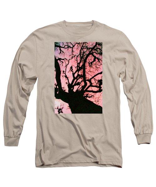 Black Paris Long Sleeve T-Shirt