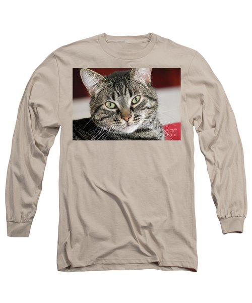 Black Tabby Long Sleeve T-Shirt