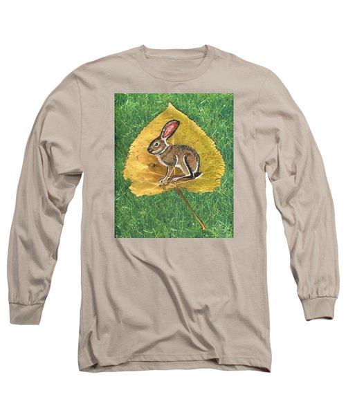 Black Tail Jack Rabbit  Long Sleeve T-Shirt