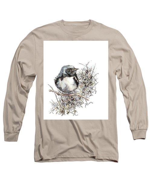 Black-throated Blue Warbler Long Sleeve T-Shirt