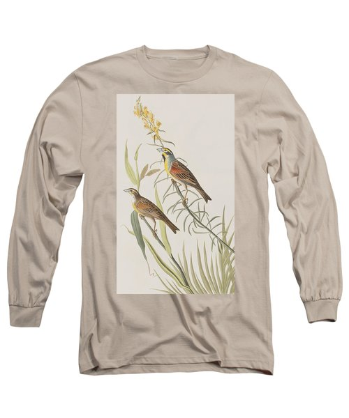 Black-throated Bunting Long Sleeve T-Shirt