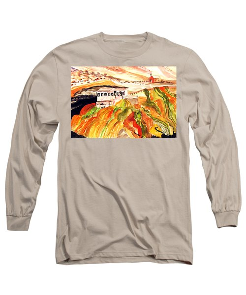 Black Waters Of The Andes Long Sleeve T-Shirt