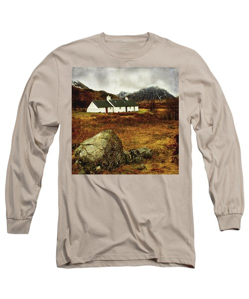 Blackrock Cottage Glencoe Long Sleeve T-Shirt by Jacqi Elmslie