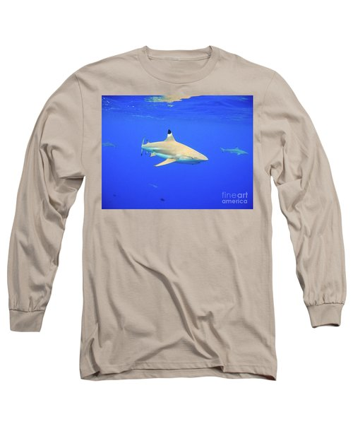 Blacktip Reef Shark Long Sleeve T-Shirt