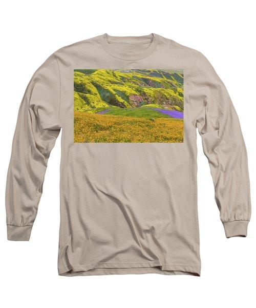 Blazing Star On Temblor Range Long Sleeve T-Shirt