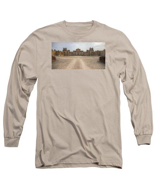 Blenheim Palace Long Sleeve T-Shirt by Clare Bambers