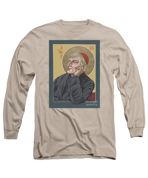 Blessed Cardinal John Henry Newman 221 Long Sleeve T-Shirt