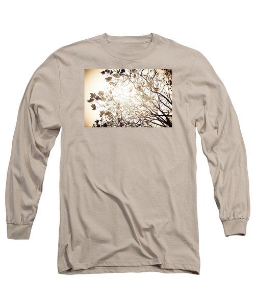 Long Sleeve T-Shirt featuring the photograph Blinding Sun by Lora Lee Chapman