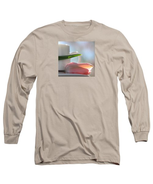 Long Sleeve T-Shirt featuring the photograph Bliss by Angela Davies