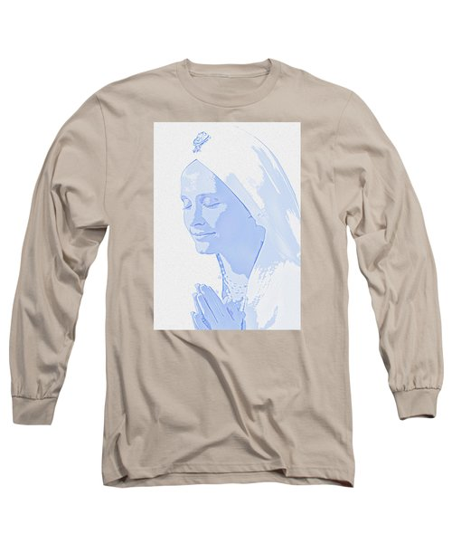 Bliss Is God Long Sleeve T-Shirt by Manjot Singh Sachdeva