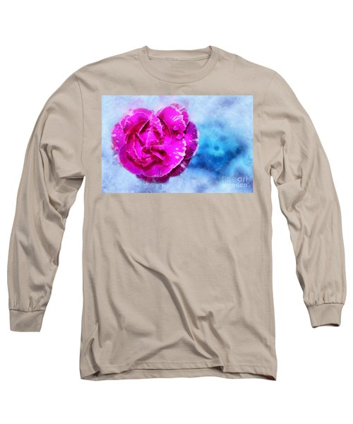 Blissful Pink Long Sleeve T-Shirt