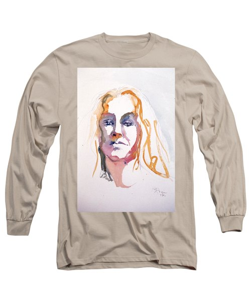 Blonde #1 Long Sleeve T-Shirt