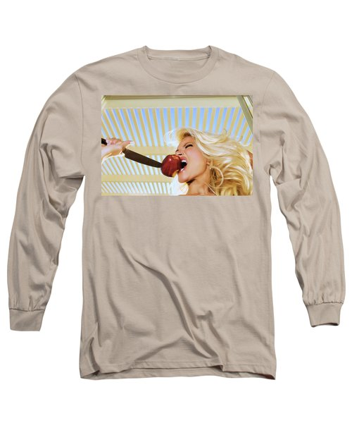 Blonde And Red Apple Long Sleeve T-Shirt