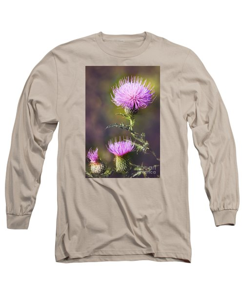 Blooming Thistle Long Sleeve T-Shirt