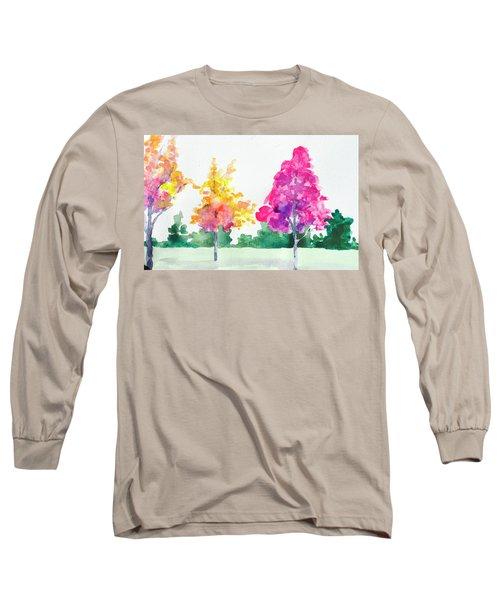 Blossom Trees Long Sleeve T-Shirt