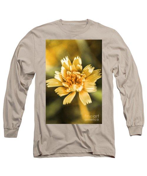 Blossoming Dandelion Flower Long Sleeve T-Shirt