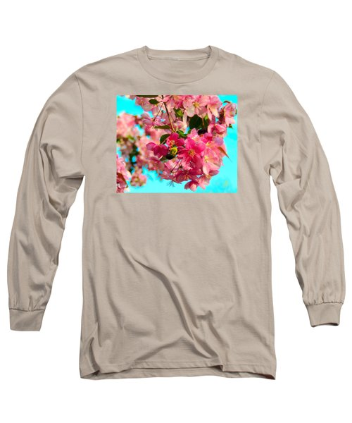 Blossoms And Bees Long Sleeve T-Shirt