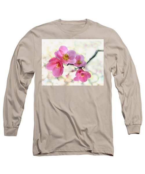 Blossoms Long Sleeve T-Shirt by Marion Cullen