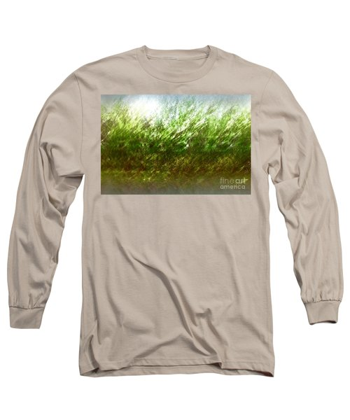 Long Sleeve T-Shirt featuring the photograph Blowing In The Wind by John Krakora