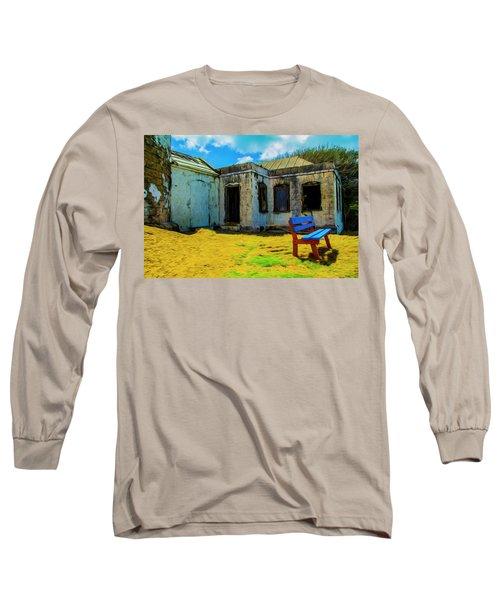 Blue Bench Long Sleeve T-Shirt