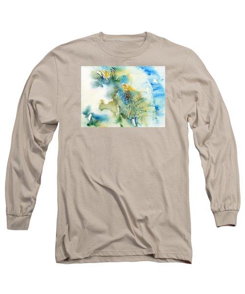 Blue Boy_ Elephant Long Sleeve T-Shirt
