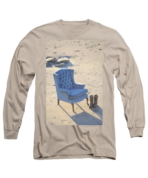 Blue Chair Long Sleeve T-Shirt