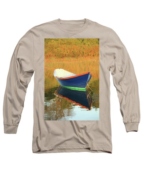 Long Sleeve T-Shirt featuring the photograph Blue Dory by Roupen  Baker